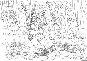 Ворона Гэ — герой своей родинки