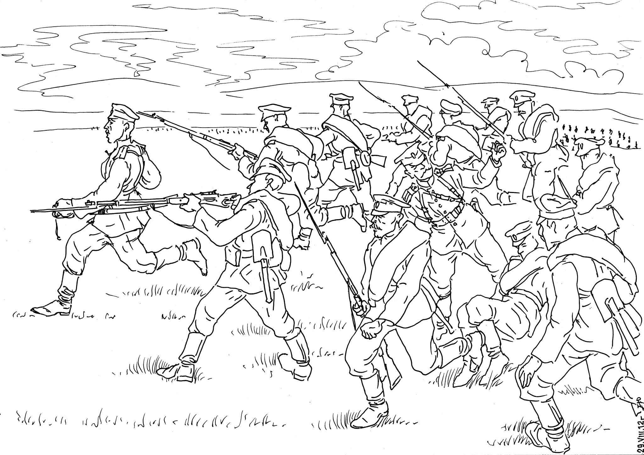 В Первую Мировую войну военнопленных было меньше, чем в Великую Отечественную
