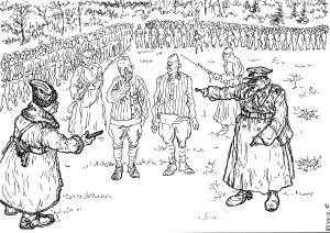 «Красноармейцев»-приверженцев враждебной идеологии ждёт суд скорый и неправый
