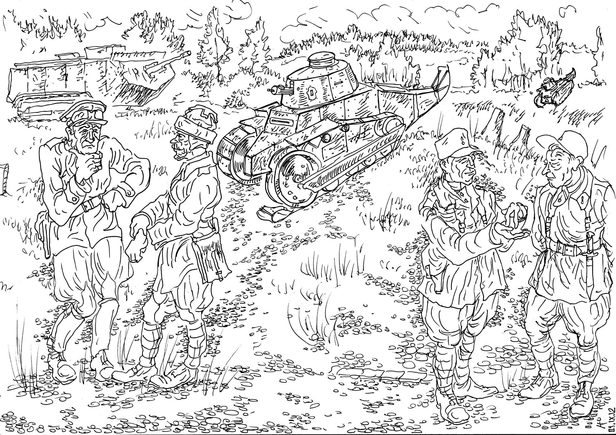 Подготовка личного состава танковых войск Французской Республики