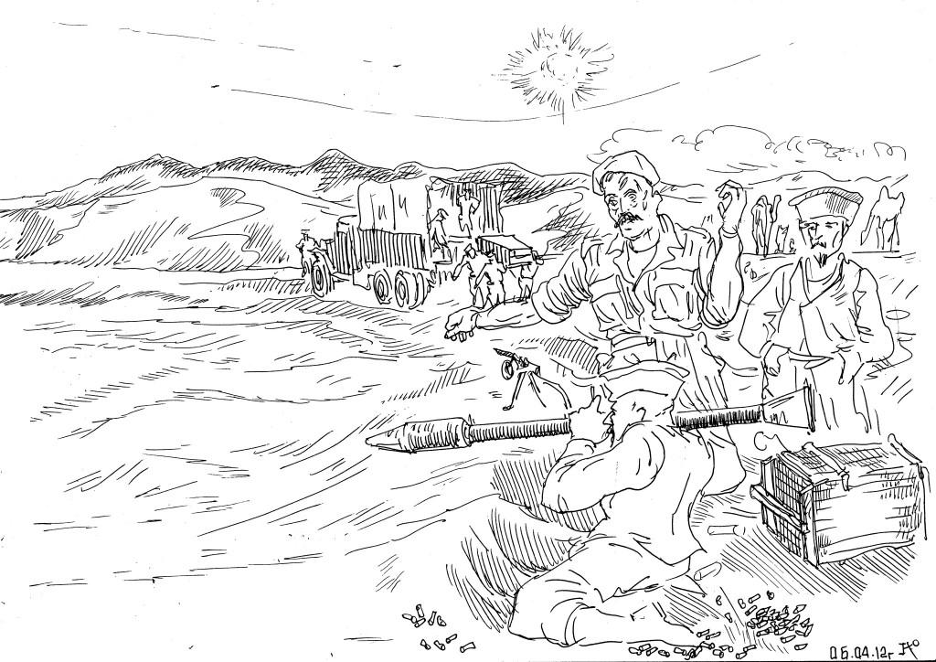 «Военспецы» щедро делятся опытом применения отечественного оружия с бандитами