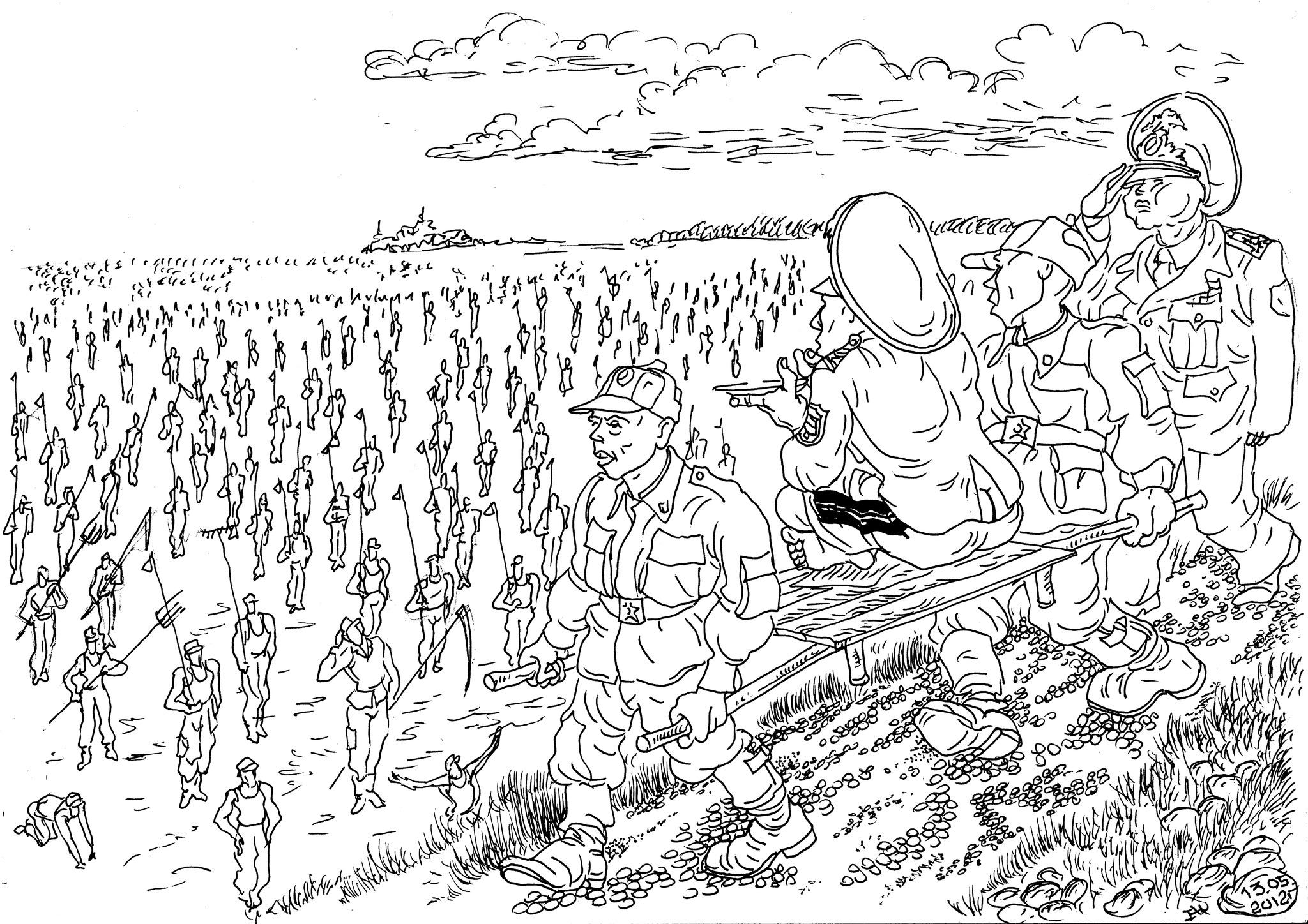 Генералитет недоволен уменьшением срока службы солдат — генералы несут убытки