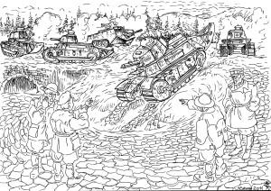 Подготовка танкистов (водителей-механиков) к танковым сражениям