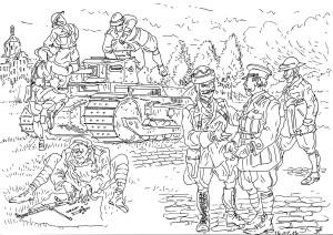 Проверка готовности танкистов союзников к сражениям