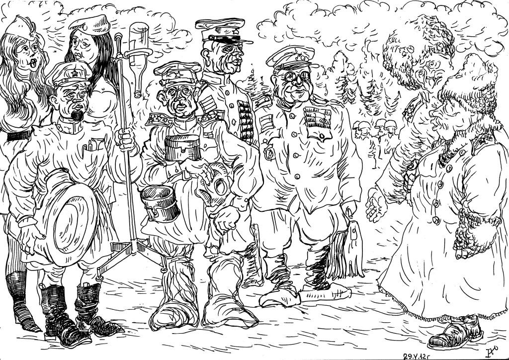 Штабисты: начмед, начхим, начпрод и начфин знакомятся с новым военачальником