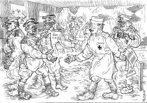 «Органисты» не приближаясь к передовой, получают нашивки за ранения, награды и пр.