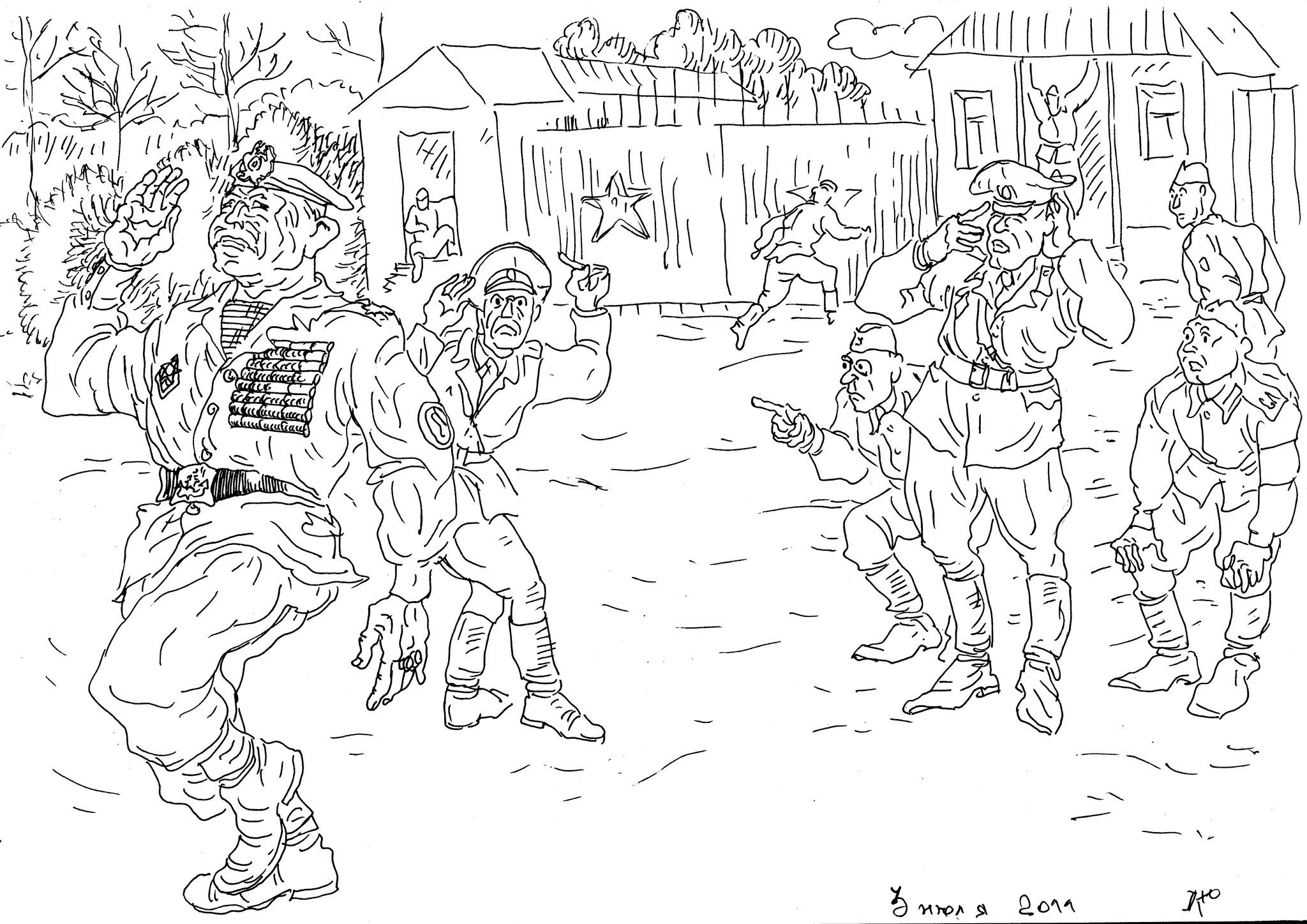 Командир в/ч, будучи «не в себе», заявился в расположение в форме морской пехоты
