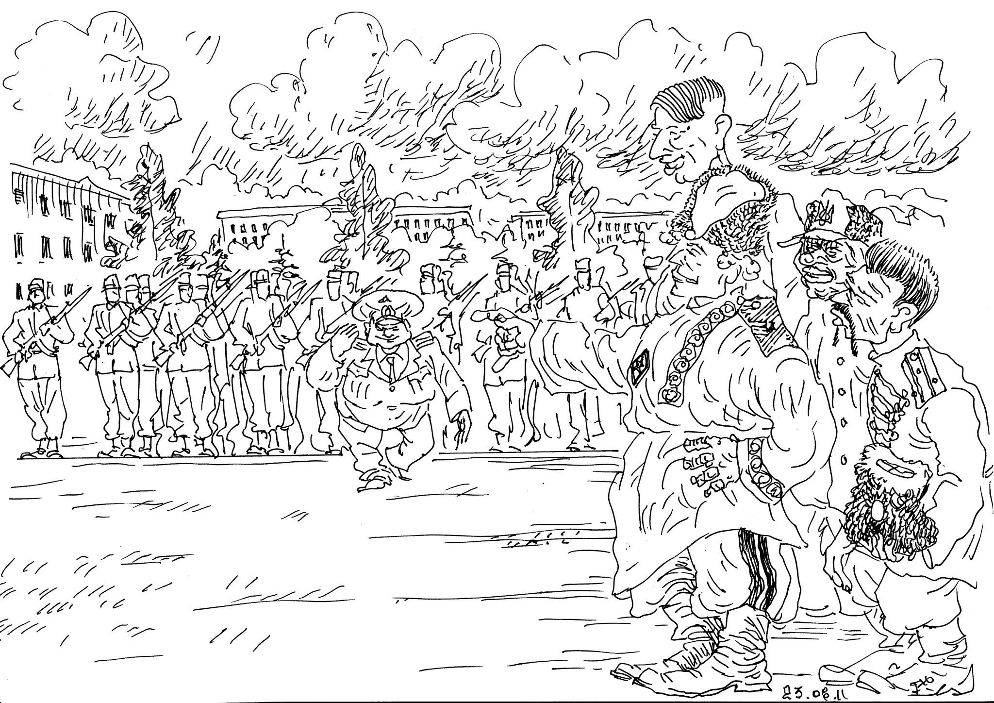Войска обучаются действиям по командам на «ридной мови»