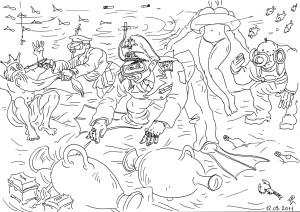 Находки на дне морском в очередную годовщину гибели подлодки «Курск»