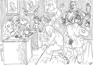 Инструктаж и оформление на работу уборщицы в офис спецслужб