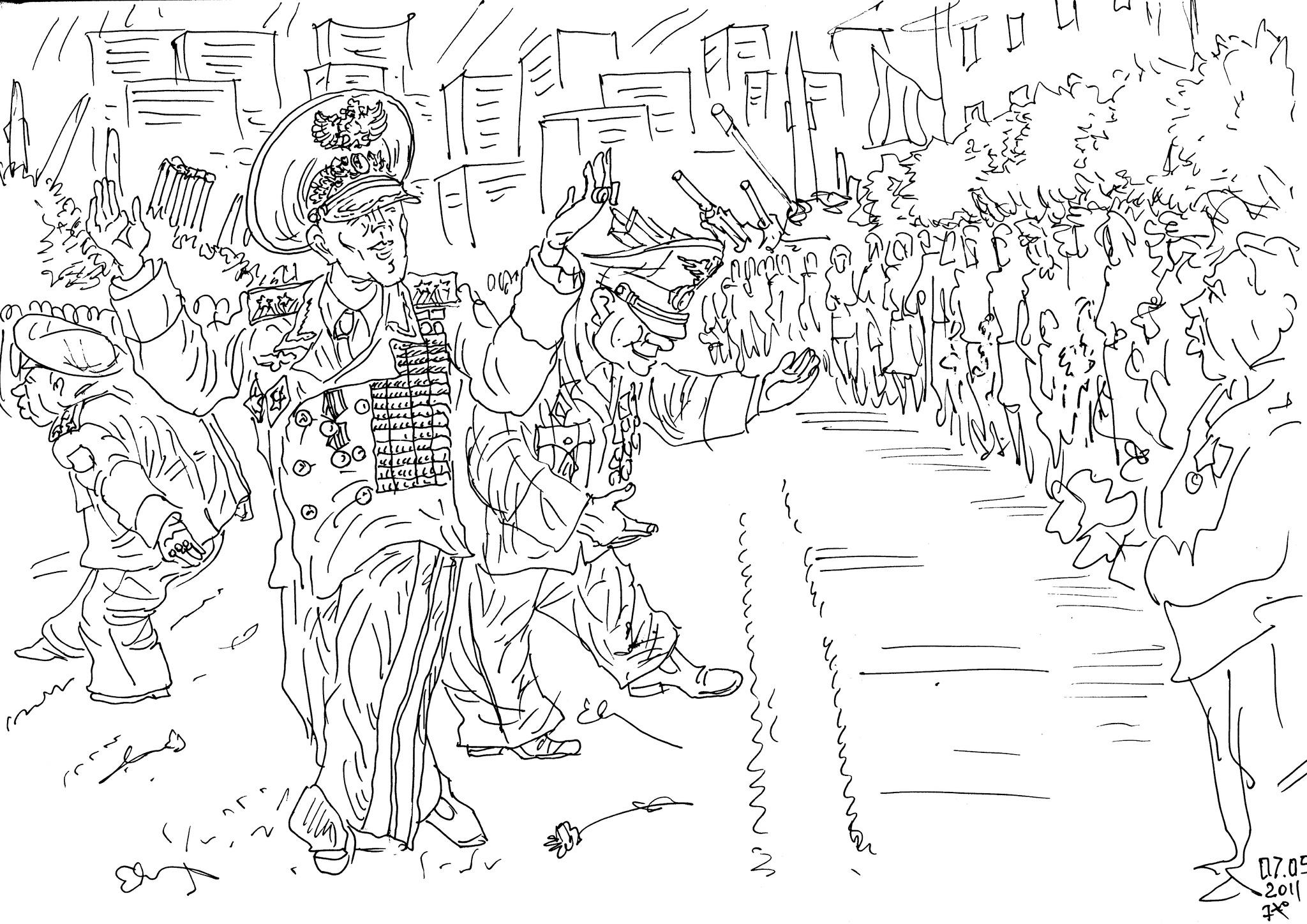 Победа одержана ветеранами-фронтовиками, несмотря на вредительство генералов