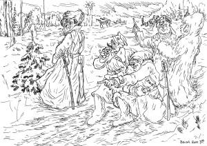 Каппелевцы несли тело своего командира, а красные считали, что в гробу ценности