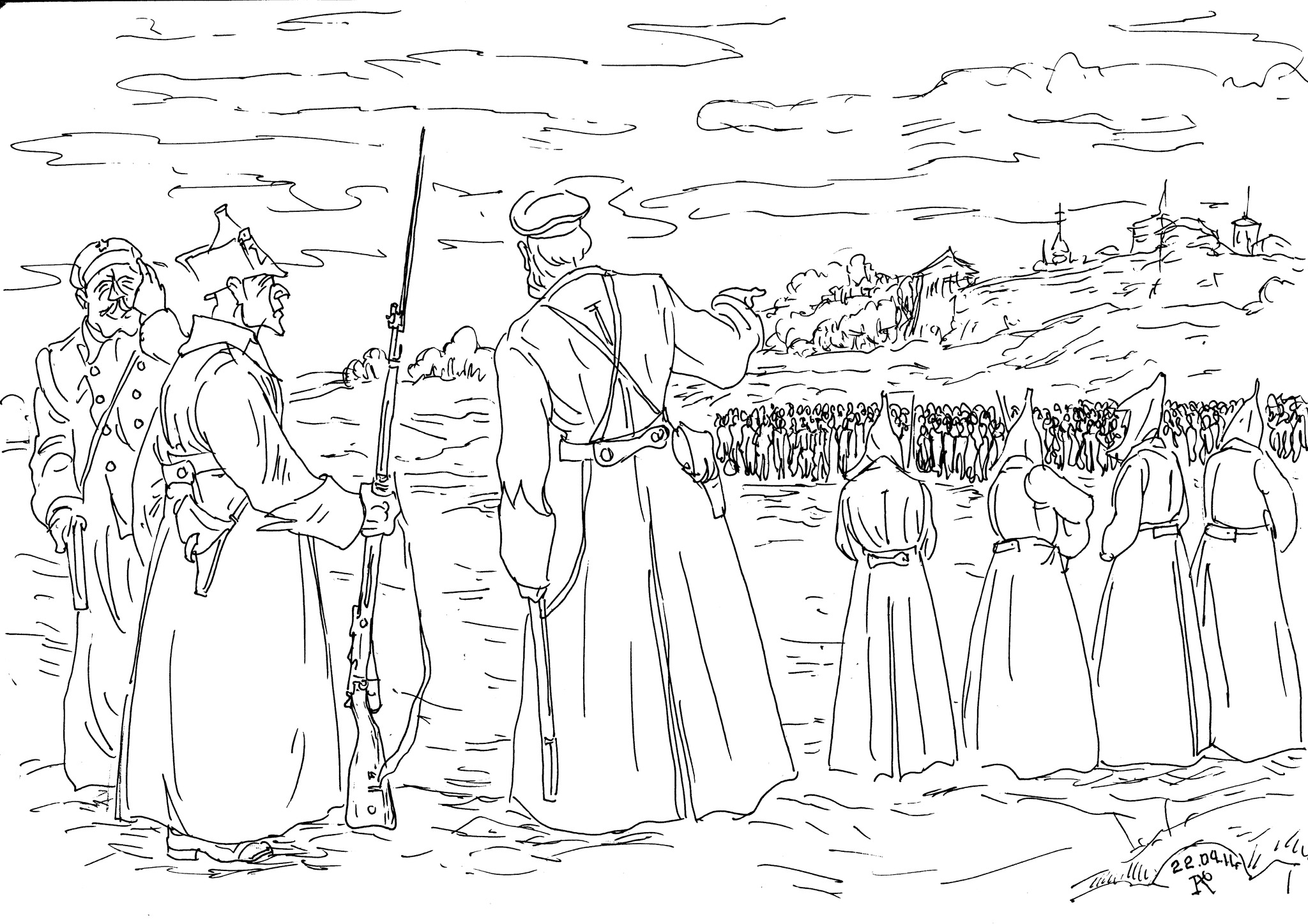 7000 матросов были расстреляны по приказу М.Н.Тухачевского в Кронштадте