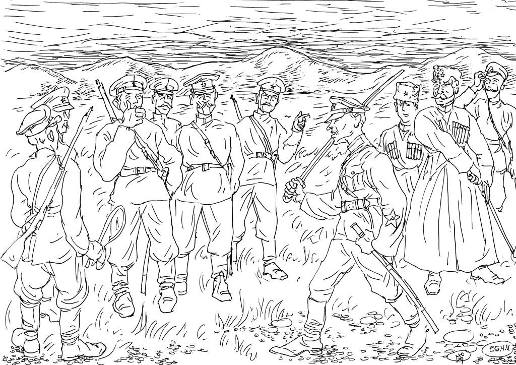 После «расказачивания» разрешили формирование казачьих кавполков и дивизий