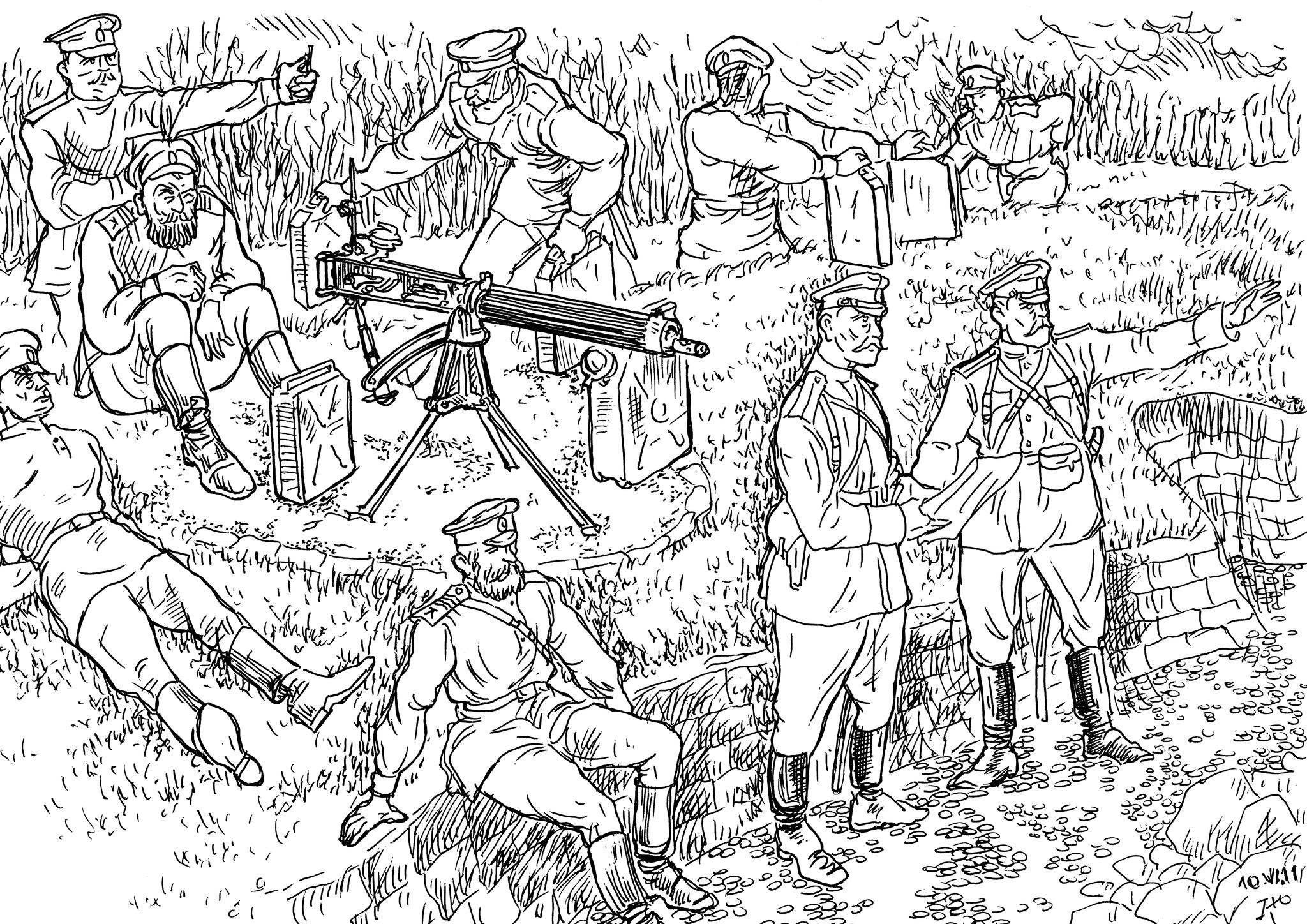 Пулемёт — оружие, перевернувшее весь ход боевых действий