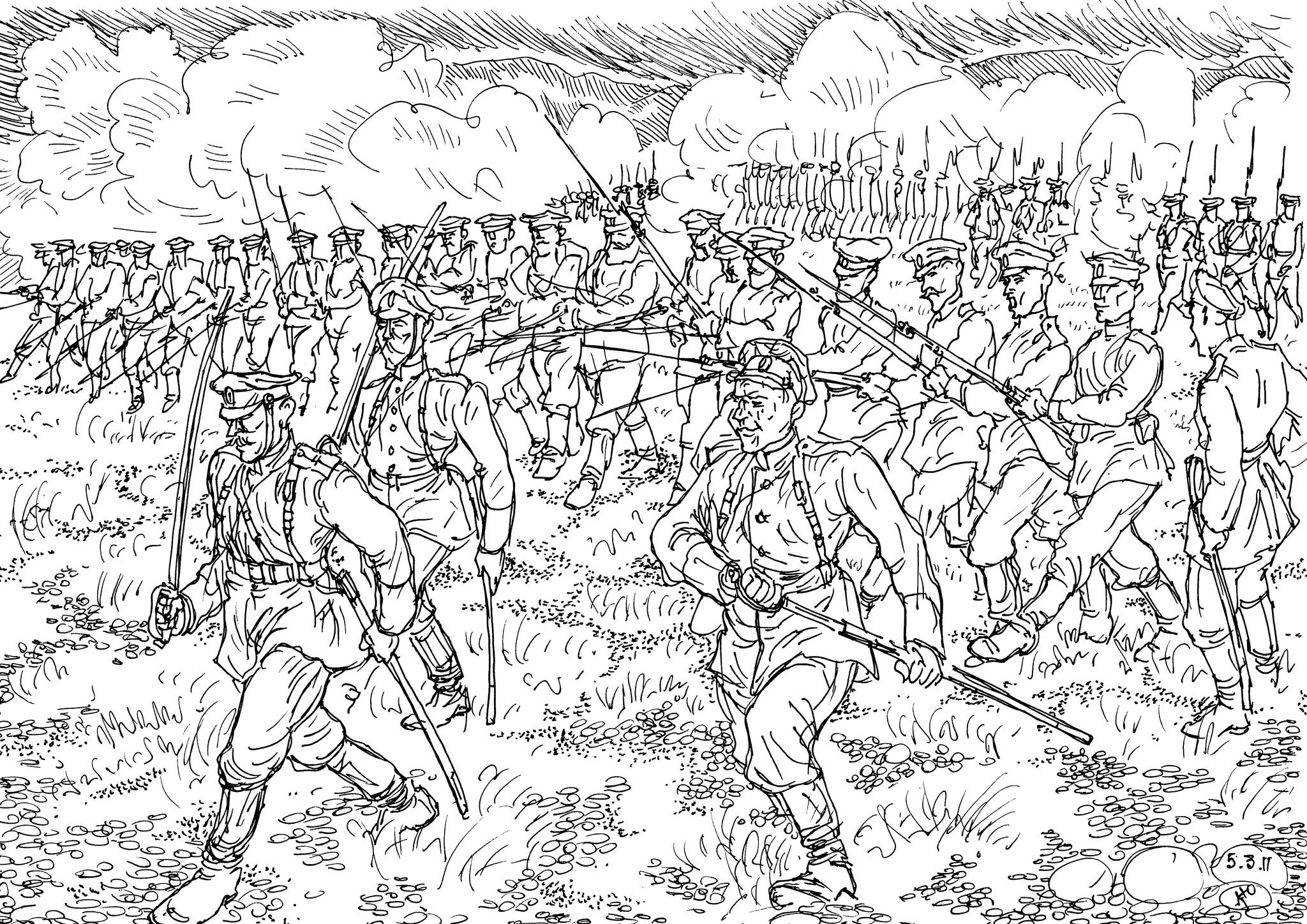 Русский солдат непобедим, и мог «вернуть прусаков в первобытное состояние»