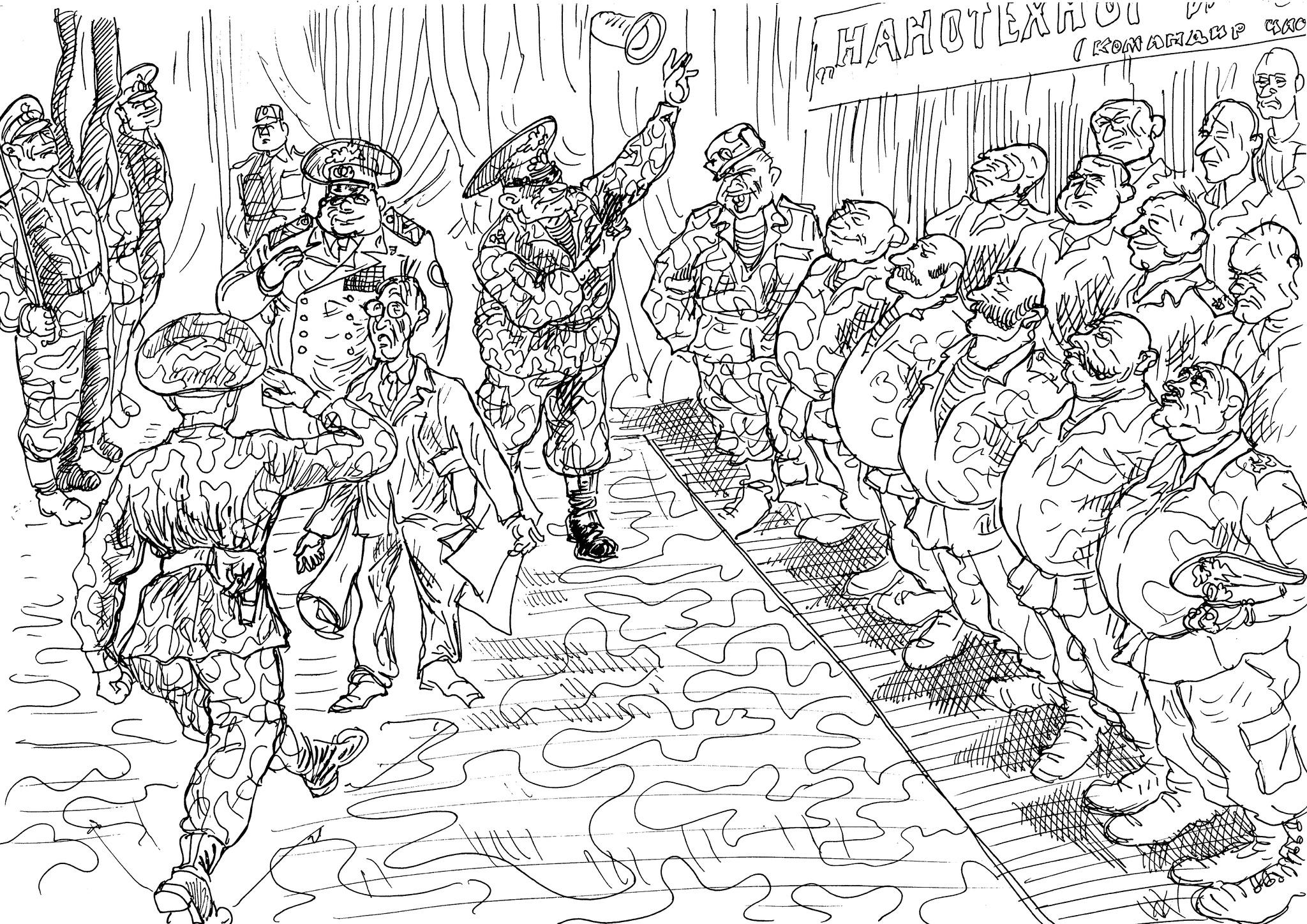 Посещение воинской части учёным-академиком