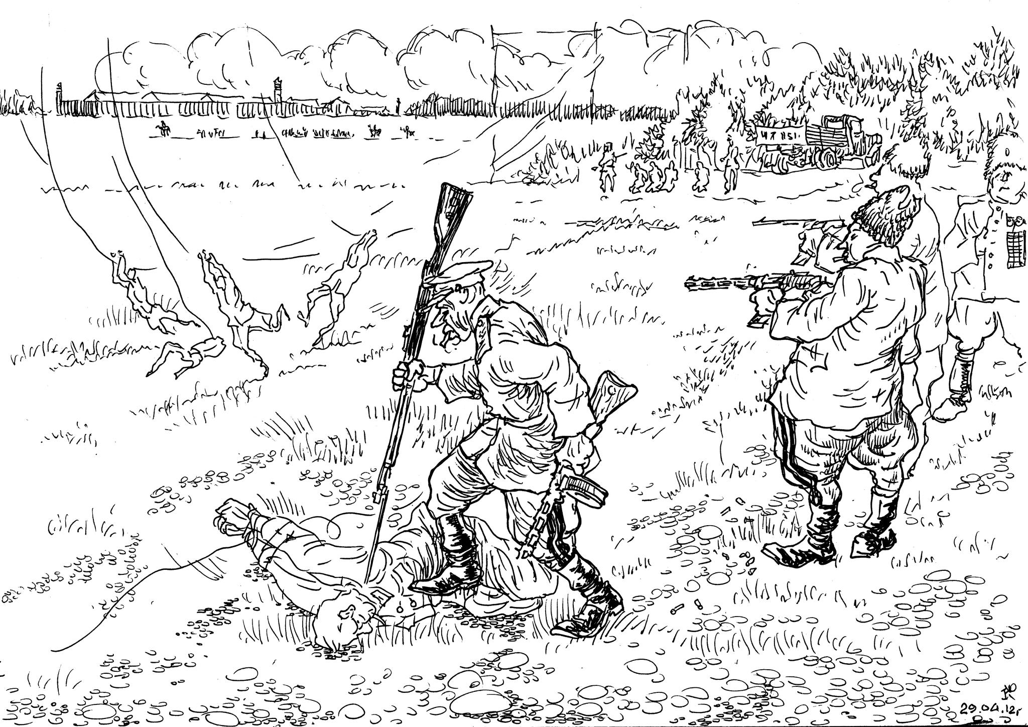 Великая Отечественная война. Руководители «органов» и боевые действия
