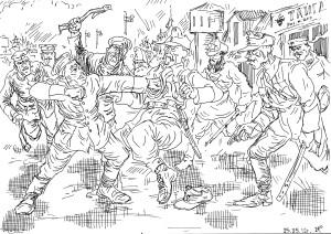 Зона оккупации России частями легионеров Чехословацкого корпуса