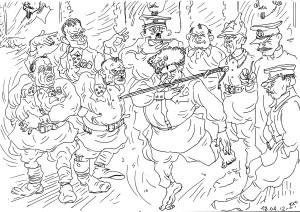 Средний и Высший комсостав РККА был неоднороден: офицеры Царской Армии и лица, безграмотные в военном отношении, причём занимавшие порой более высокие должности