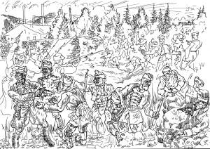 Восстание рабочих-фронтовиков Верх-Исетского завода в 1918 году подавлено чекистами