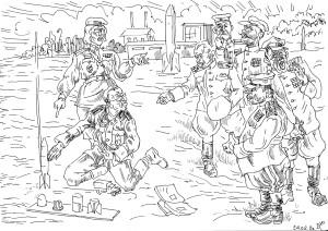 Части РККА в Пенемюнде захватили образцы изделий и боевых частей ракет, оборудование и специалистов