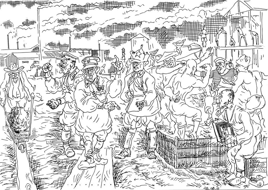 Малая механизация на стройках народного хозяйства в 20-30-е годы