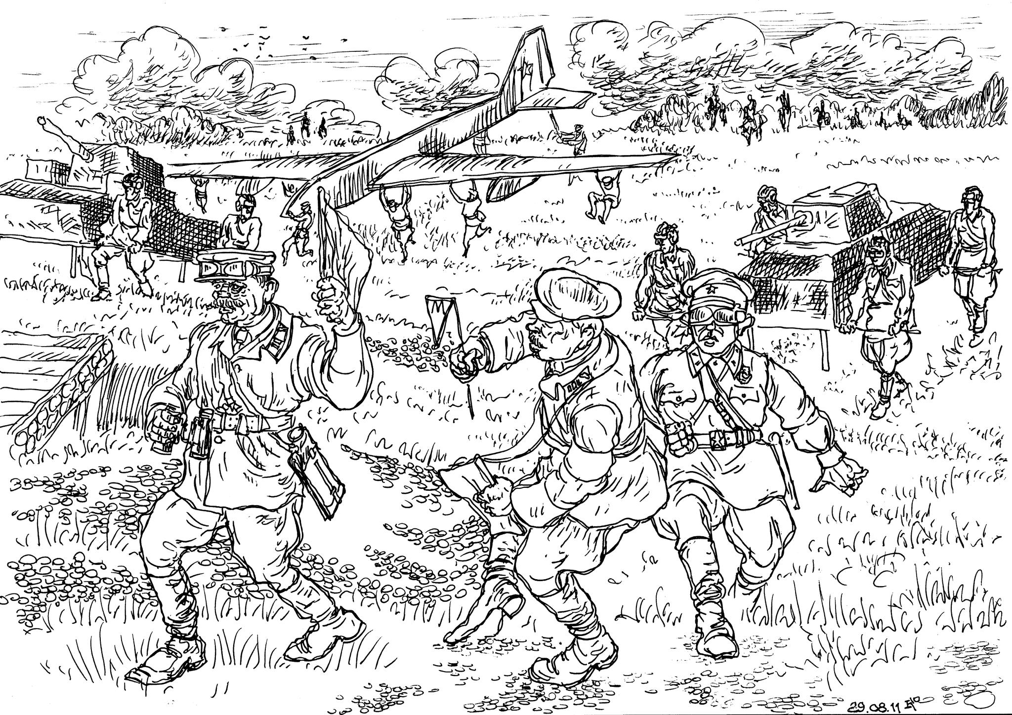 Тактические совместные учения танковой и авиационной военакадемий