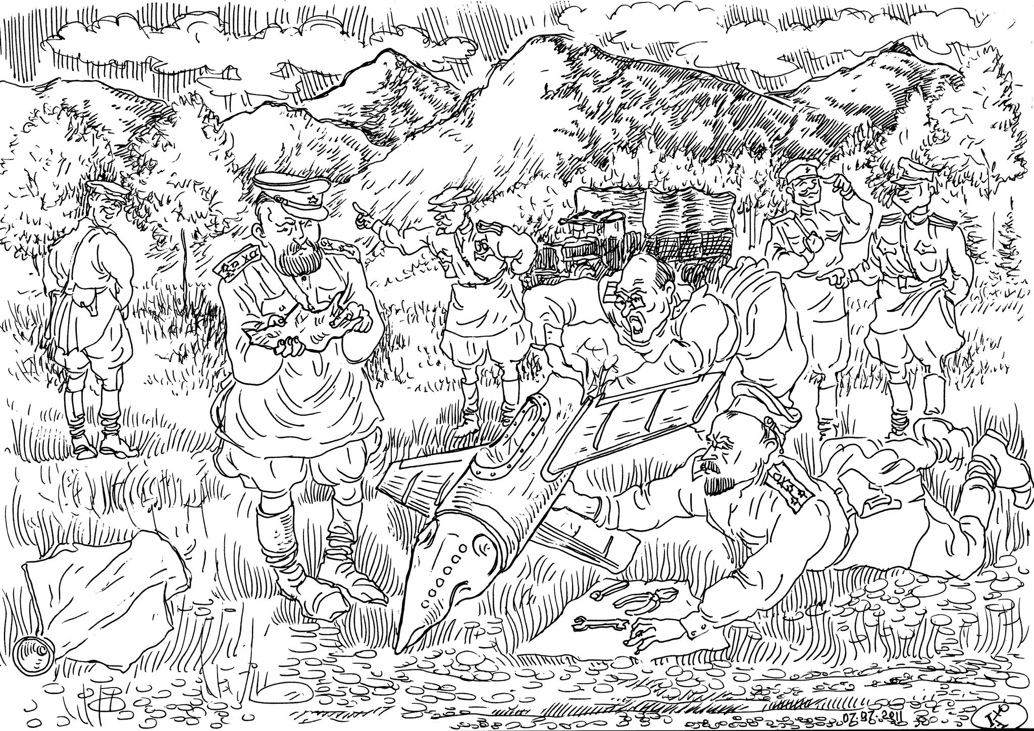 Обломки немецких ракет, попавшие в руки военучёных, были скурпулёзно изучены, защищены диссертации, «придумано» много чего интересного