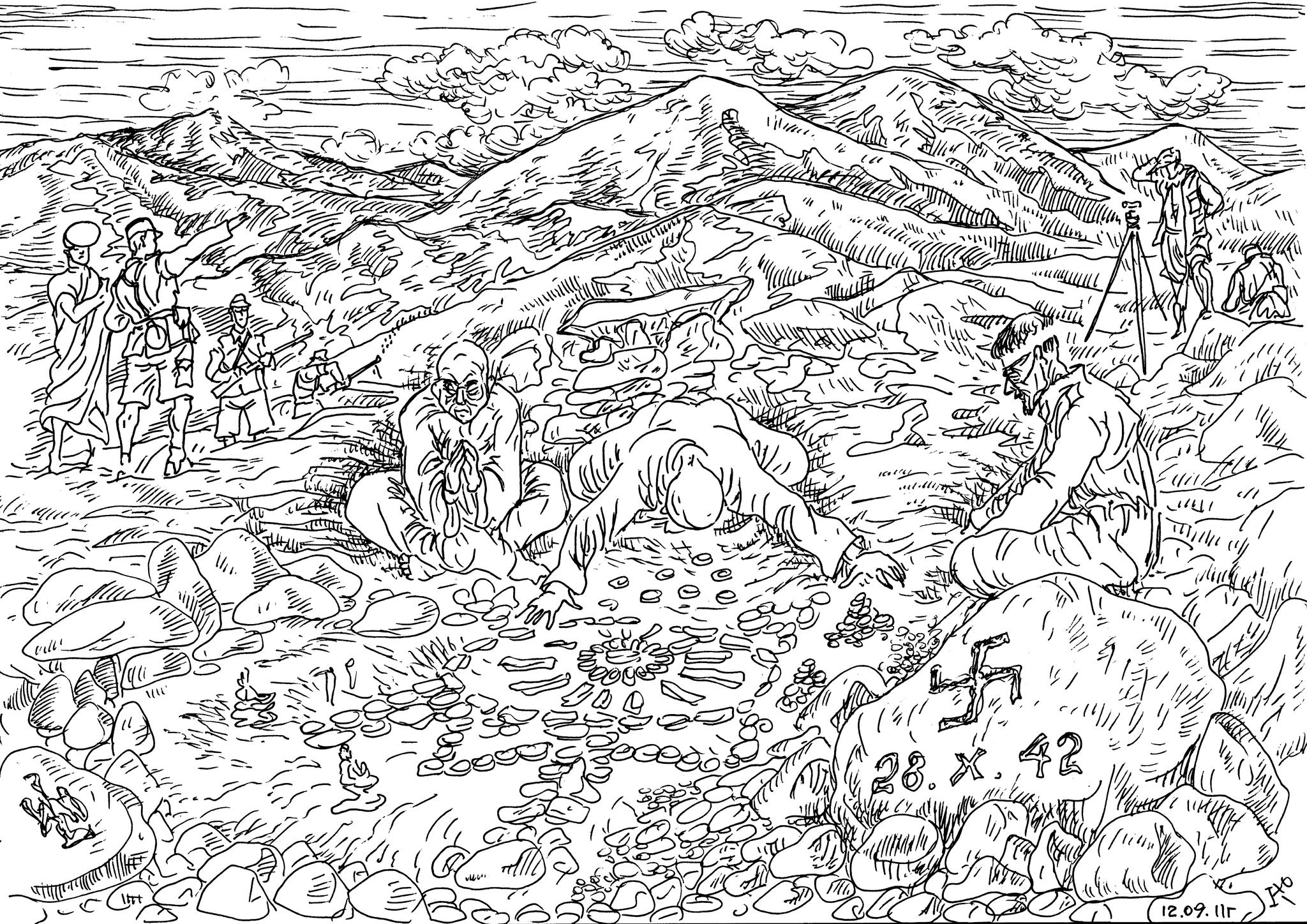 Немцы-эсэсовцы из общества «Аненербе» и тибетские монахи искали в горах портал для перемещений во-времени