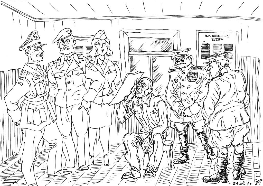 Бывший военнопленный отклоняет предложение союзников остаться в свободном мире