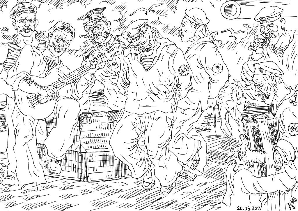 «… Ударил прикладом, штыком запорол, цевьём задушил самурая!»