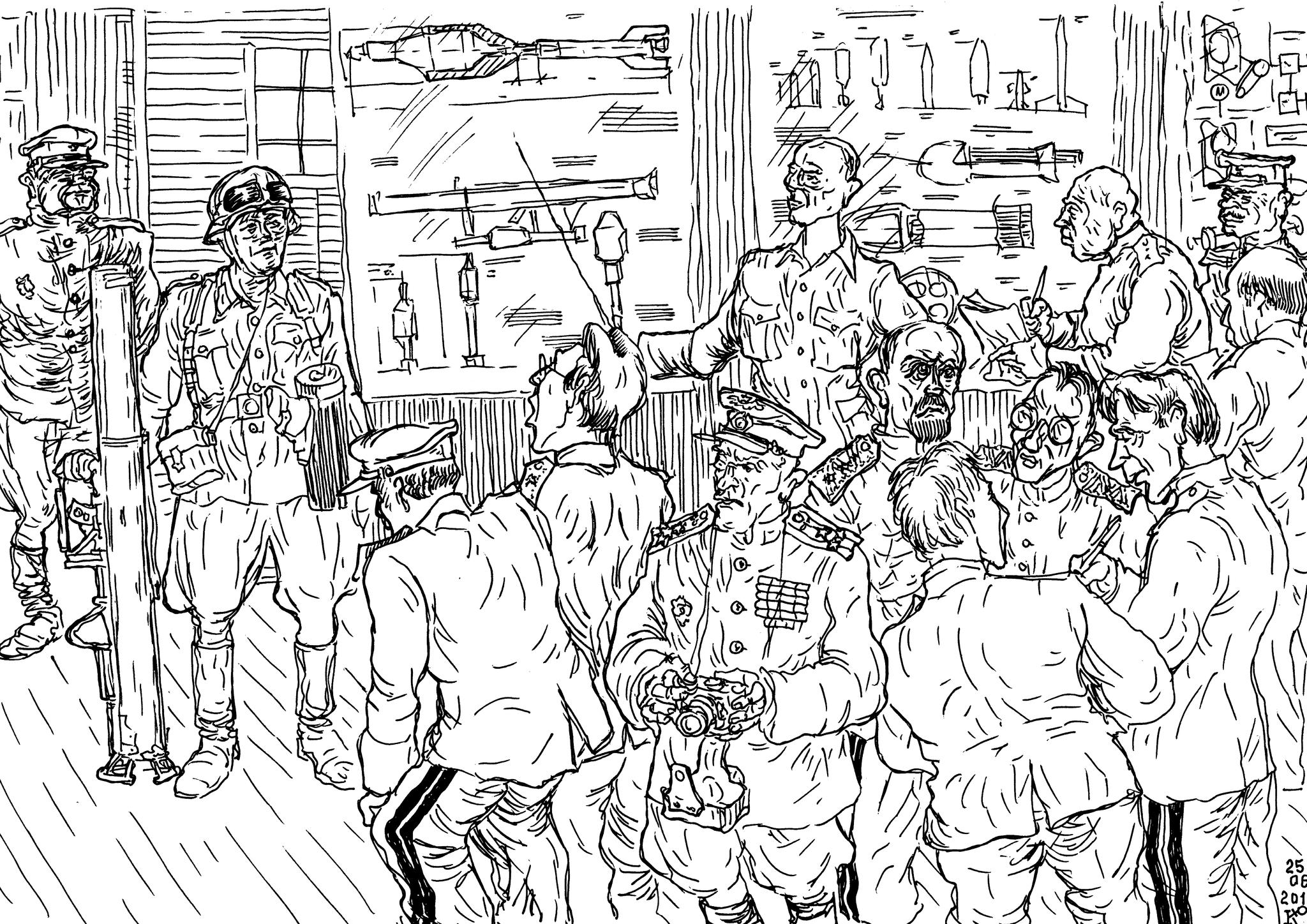 Захваченные образцы вооружения и документация на них — «источник» военнаучной деятельности учёных ВПК