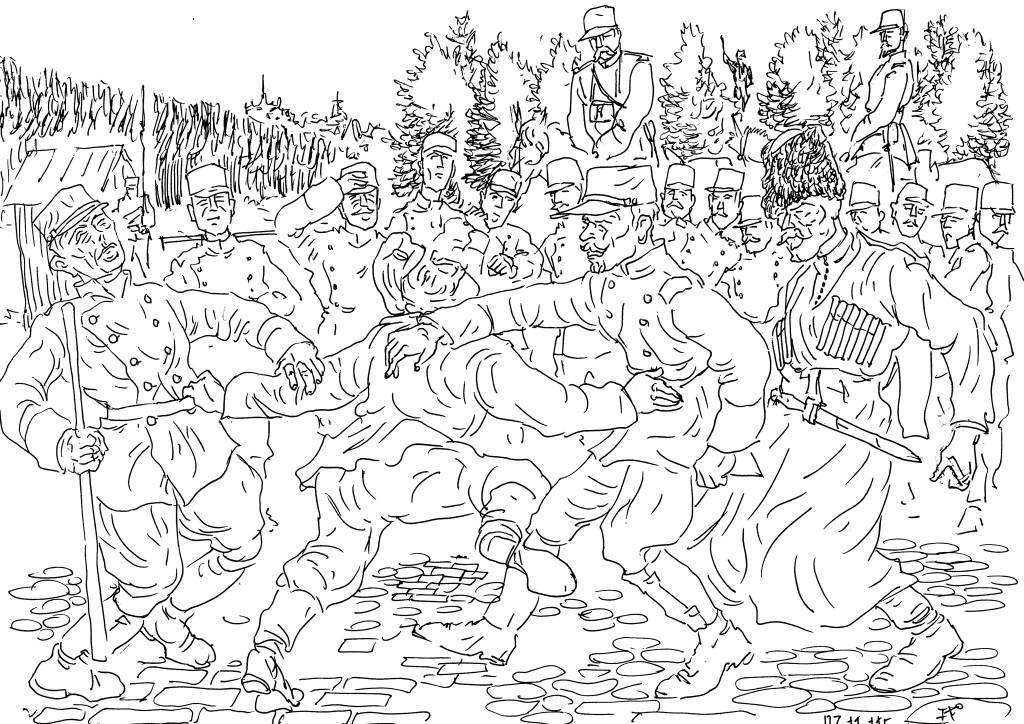 Французских легионеров готовят к боям русские эмигранты