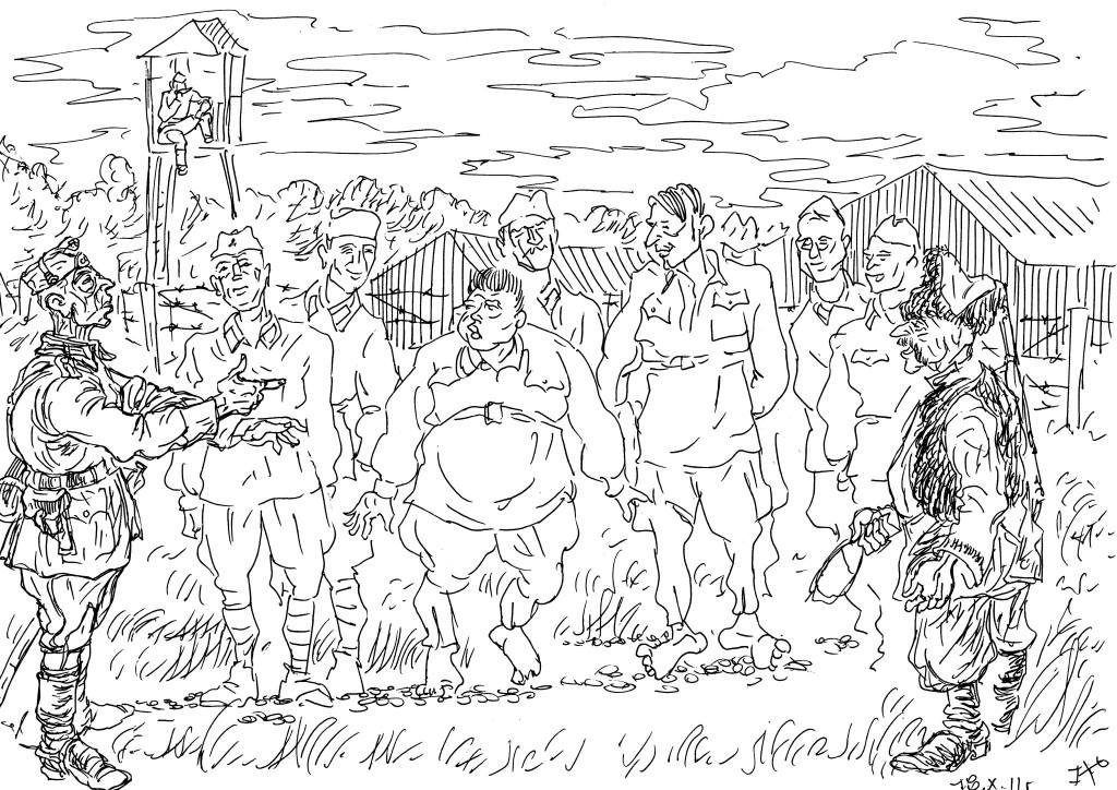 """Начало войны 1941г. «Кто тут в строю из военнопленных комиссары и командиры?"""""""