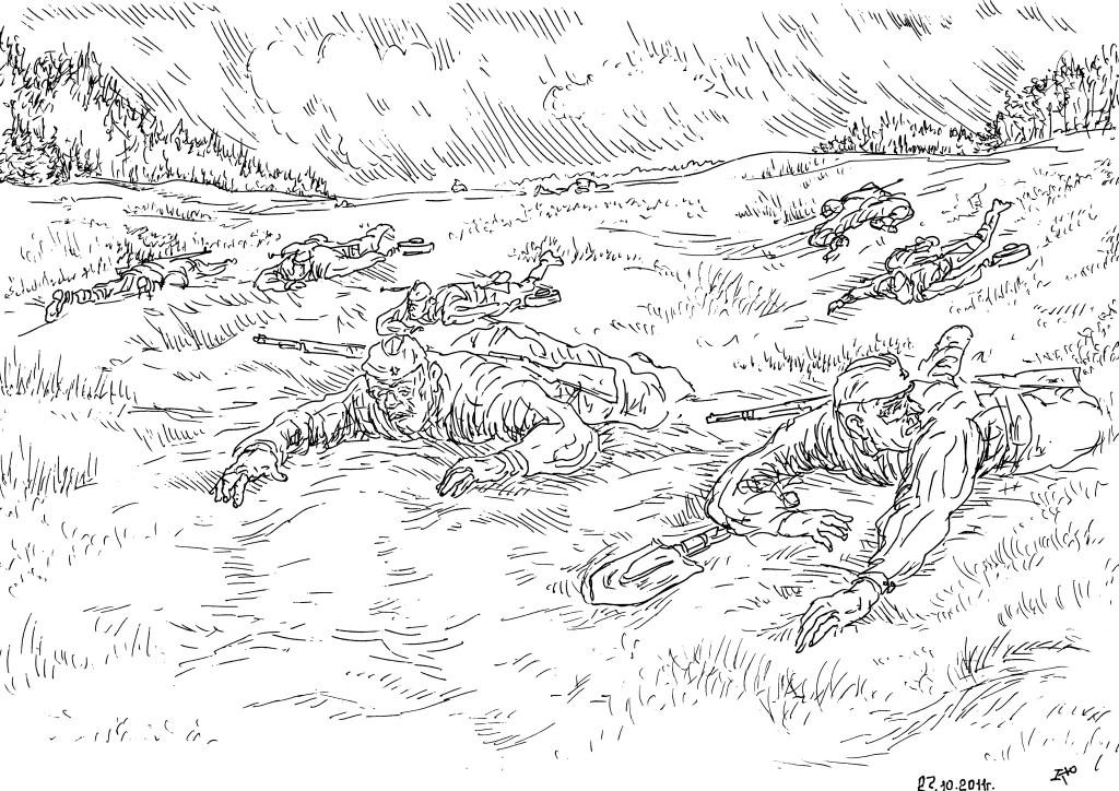 Инженерные войска Советской армии. Минные поля