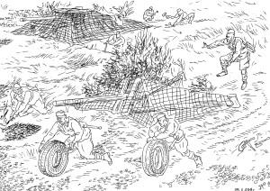 Инженерные войска Советской армии. Ложные боевые позиции