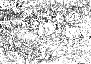 Военнопленные сразу из германских лагерей прибыли в советские