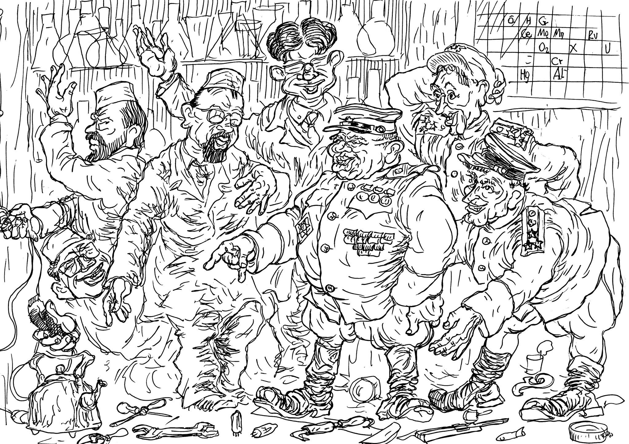 В СССР ученые и инженеры не редко творили в «шарашках» на благо военруководителей