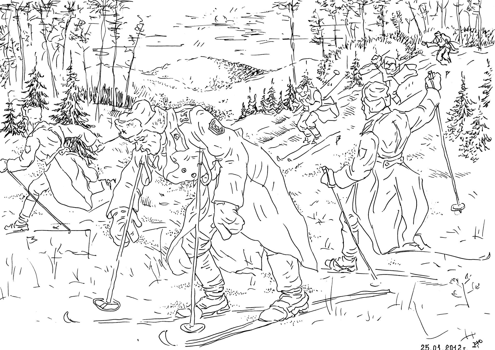 В Советской армии культивировались военно-прикладные виды спорта