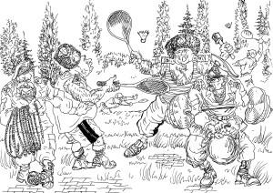 Армия — сколок или срез общества. Новый армейский вид спорта — «бэдмильтон»