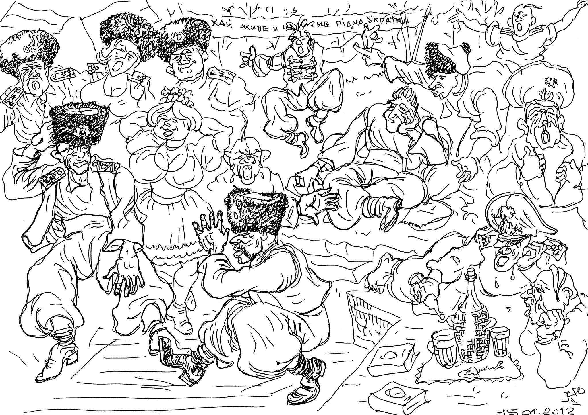 Тоскуют засланцы на чужбине, будучи вынужденными служить москалям