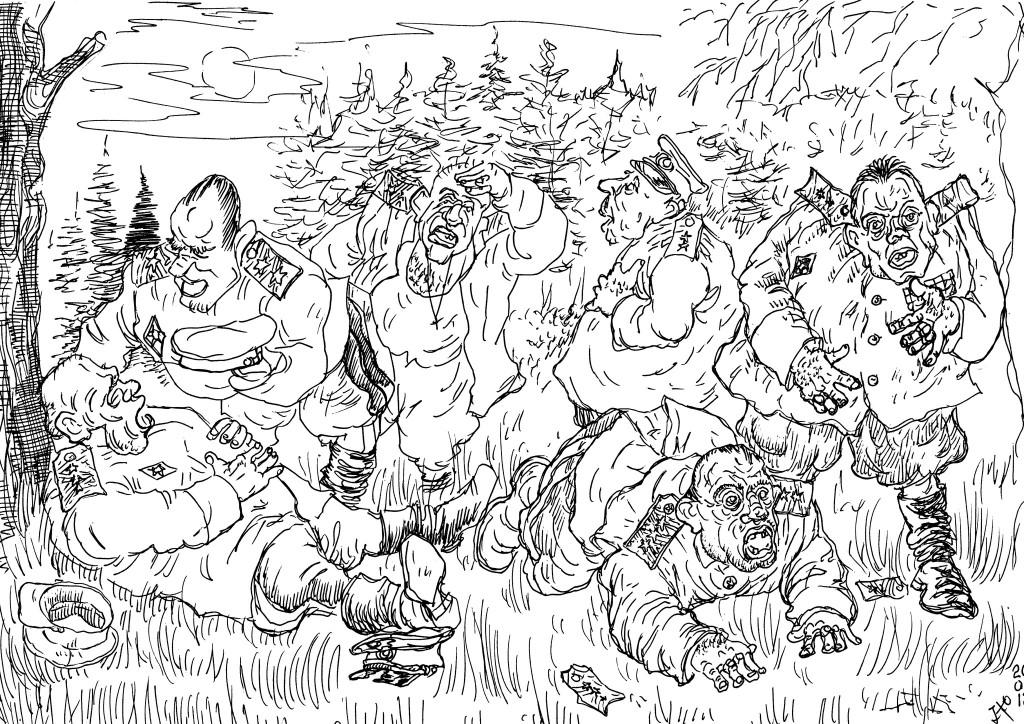 После Отечественной войны в СССР «у кормушки» осталось очень много «полководцев»