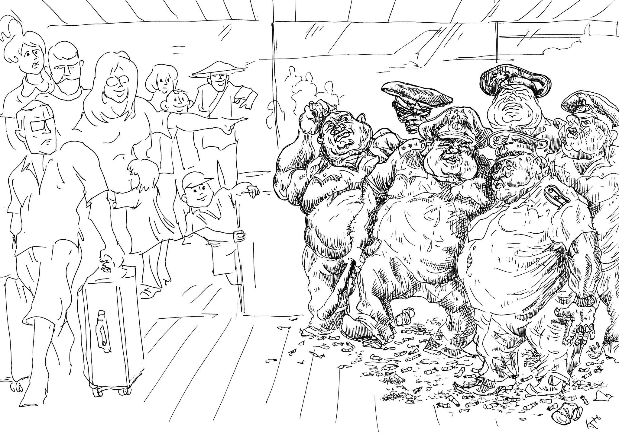 Кто формирует у приезжающих в аэропортах и на вокзалах лицо города
