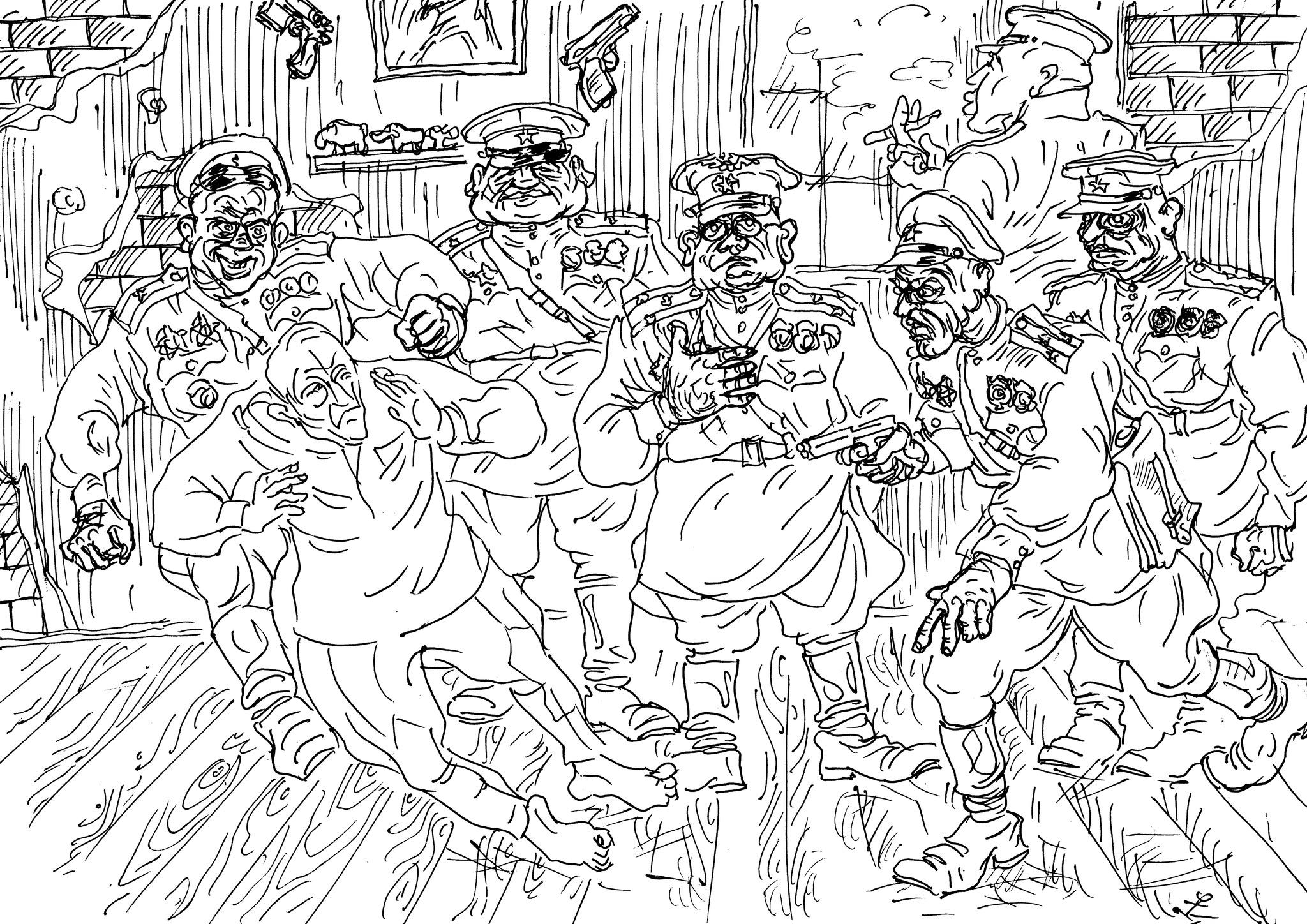 Бойцы невидимого фронта поймали на анекдотах солдатика и вербуют его