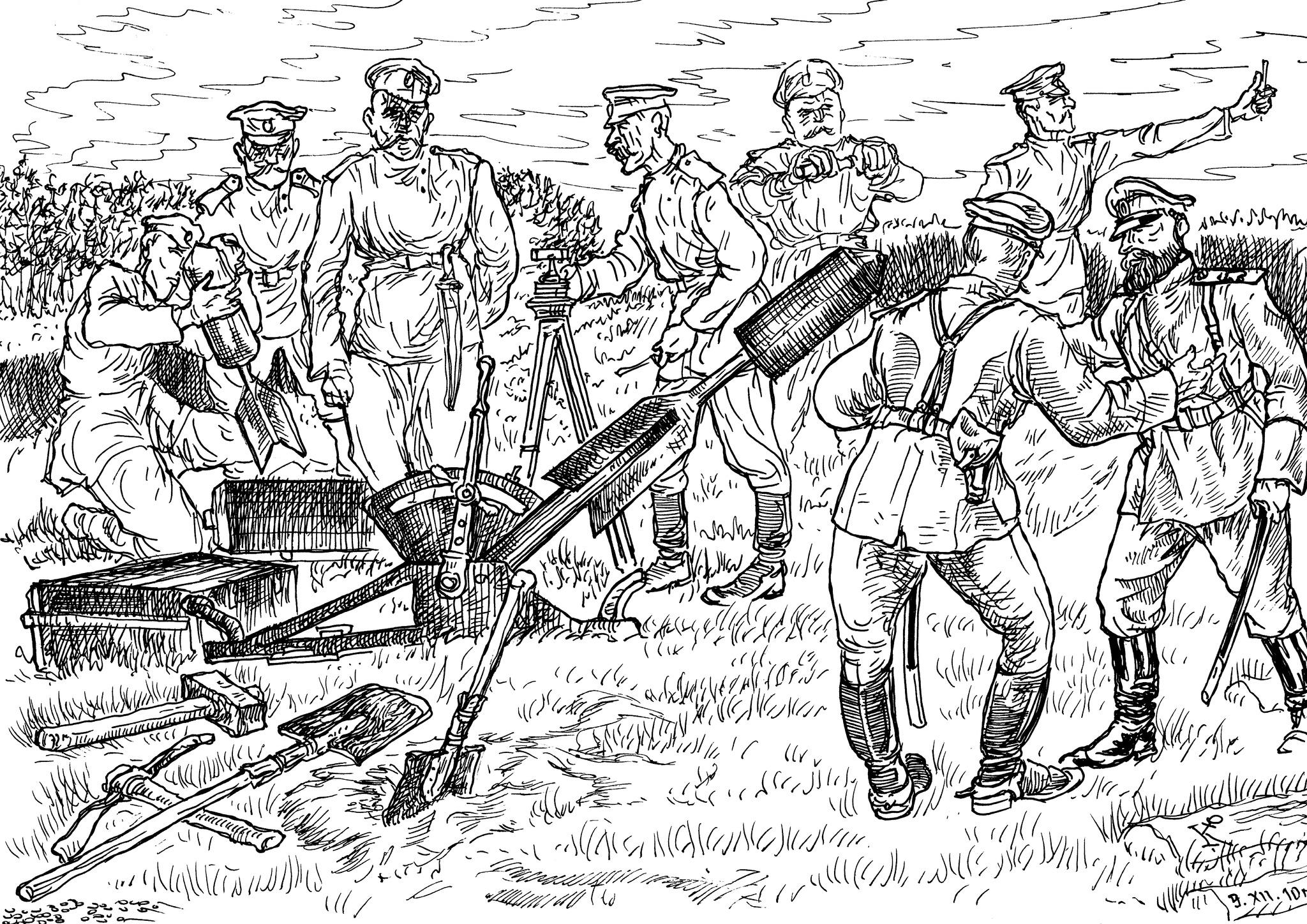«Оружие ближнего боя» — 47-мм миномёт Лихонина