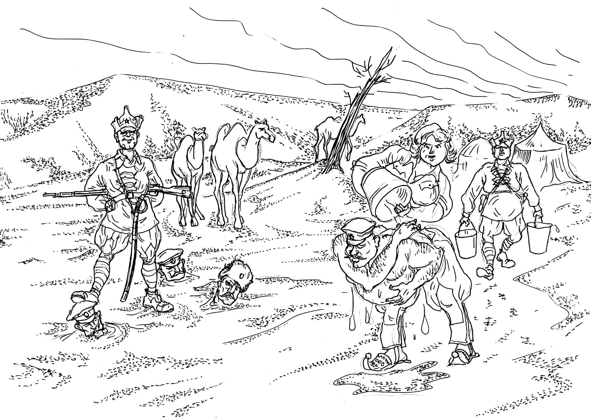 Чоновцы-туркестанцы сделали многое и сделали бы ещё больше для установления Советской власти на южных окраинах РСФСР