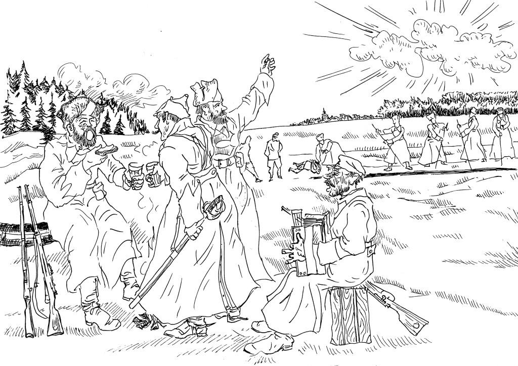 Латышские стрелки «отрывались» в расстрелах русских офицеров, русских священников, русской интеллигенции, русских крестьян: главное, чтобы был русским