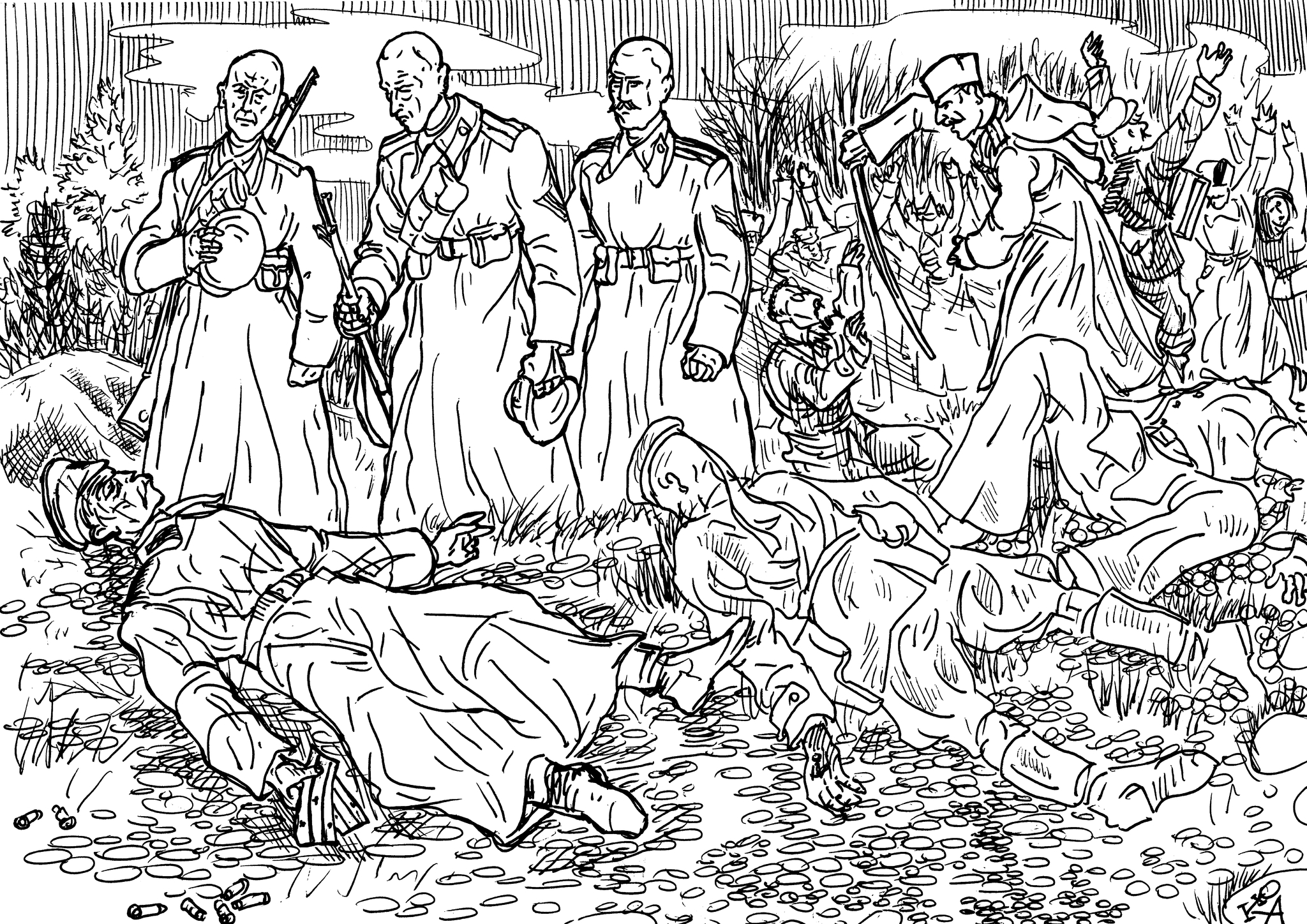Военспец так «развил» события, что победили белые
