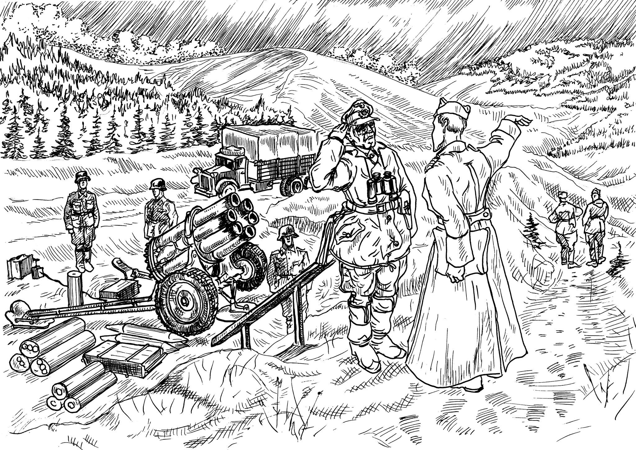 150-мм реактивный миномёт «Небельверфер-41»
